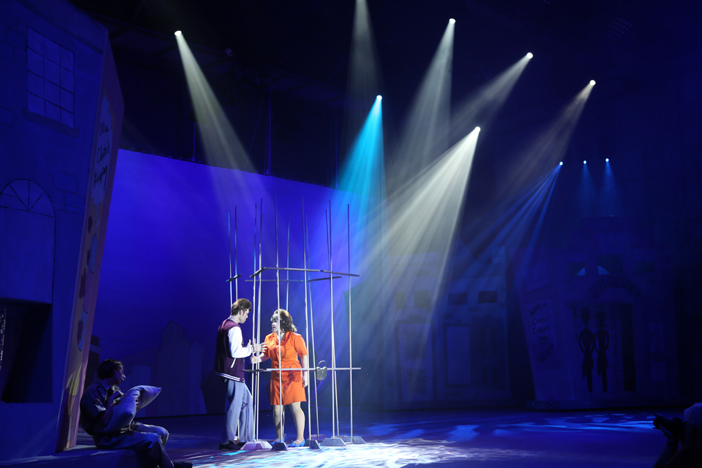 Hairspray - Theatrical Lighting 2013 & Hairspray - Theatrical Lighting 2013 - EnHansen Design